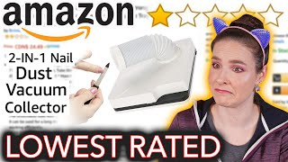 I Tried the Worst Rated Amazon Nail Products thumbnail