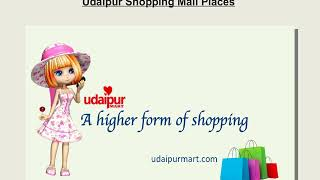 Udaipur Shopping Mall