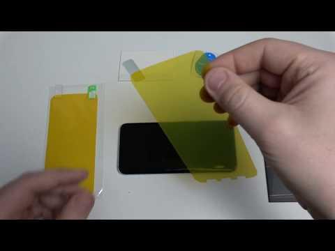 Display Schutzfolie auf das Samsung Galaxy S8 und S8+ aufbringen. 4K Video