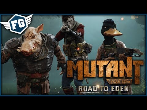 ZVÍŘECÍ XCOM - Mutant Year Zero: Road to Eden