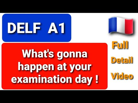 DELF A1 EXAM FORMAT EXPLAINED - YouTube