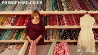 May Martin Talks About Gingham Fabric With Fabric Land