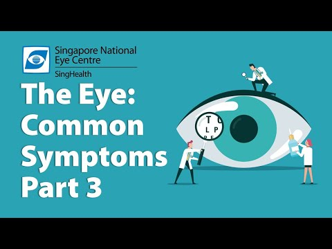 ​Common Eye Symptoms (Part 3) - Swollen Eyes, Flaky Eyelids, Burning Eyes and a Foreign Body in Your Eyes