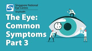 Common Eye Symptoms (Part 3): Swollen Eyes, Flaky Eyelids, Burning Eyes, A Foreign Body in Your Eyes