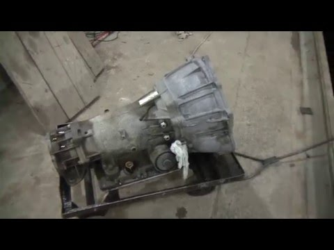 Ремонт акпп 4L60E часть1 Разбор. Automatic transmission repair 4L60E part 1 Analysis