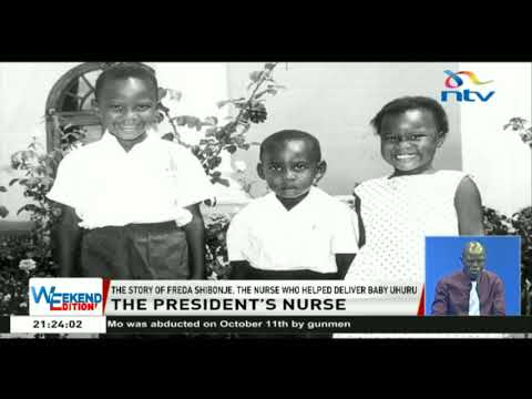 The story of Freda Shibonje, the nurse who helped deliver baby Uhuru Kenyatta