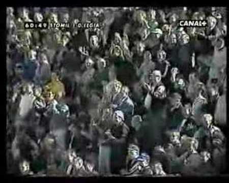Stomil Olsztyn wygrał z Legią Warszawa 1:0 (2000 rok)