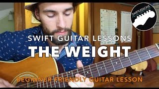 """The Band """"The Weight"""" - Last Waltz Guitar lesson"""