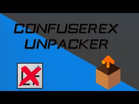 De obfuscate ConfuserEx V 1 0 0 with dnSpy and ConfuserEx