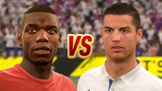 BLACK vs WHITE TEAM - FIFA 17 !!!