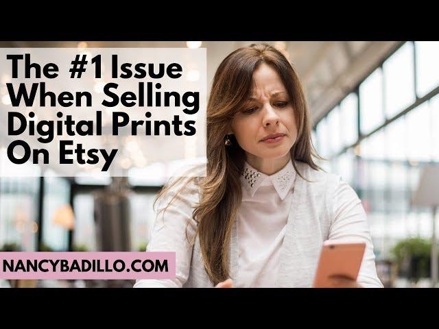Selling Printables On Etsy | Etsy Printables | Etsy 2020 | Nancy Badillo