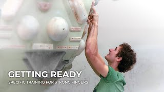Getting Ready: Specific Training for Strong Fingers | Adam Ondra by Adam Ondra
