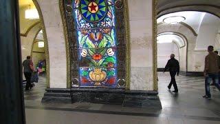 Вся кольцевая линия метро (сокр. версия без перегонов 15 мин)