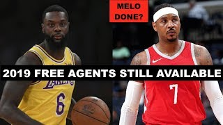 10 Best 2019 NBA Free Agents Still Available