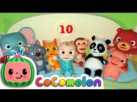 Ten in the Bed | CoCoMelon Nursery Rhymes & Kids Songs