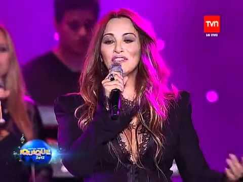 Myriam Hernandez - Huele a Peligro 2012 en vivo chile