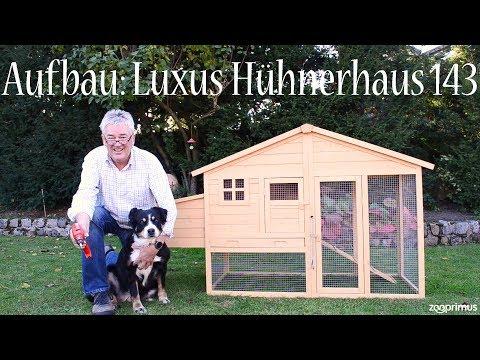 Zooprimus - Aufbau: Luxus Hühnerhaus 143