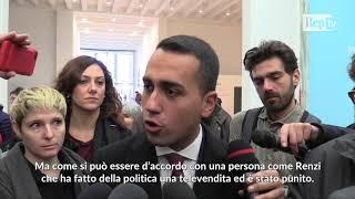 """Di Maio: """"Renzi ha fatto di politica una televendita"""""""