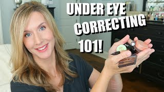 Under Eye Correcting 101 + The Best Correctors For Dark Circles (& Some I Dont Like!)