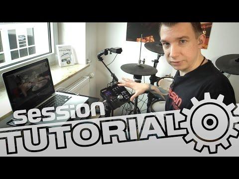 session Tutorial: Drum-Software über E-Drums spielen (Toontrack EZDrummer)