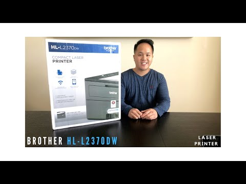 Brother Laser Printer Review - Wireless Black-and-White Laser Printer HL-L2370DW