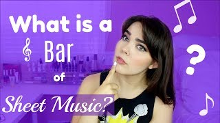 What is a Bar of Sheet Music?   16 Bar & 32 Bar Audition Help for Singers