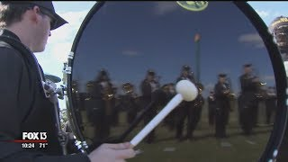 Battle of the Outback Bowl bands