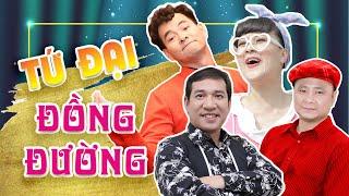 Tứ Đại Đồng Đường || Xuân Bắc, Tự Long, Quang Thắng, Vân Dung || Hài Tết 2019
