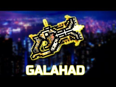 GALAHAD - New clan weapon! Pixel Gun 3D