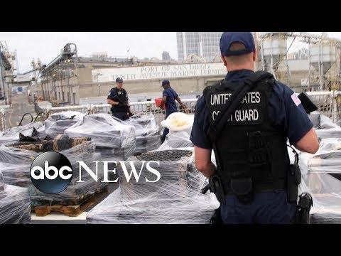 Cocaine cowboys: Inside the US Coast Guard's war on drugs   ABC News