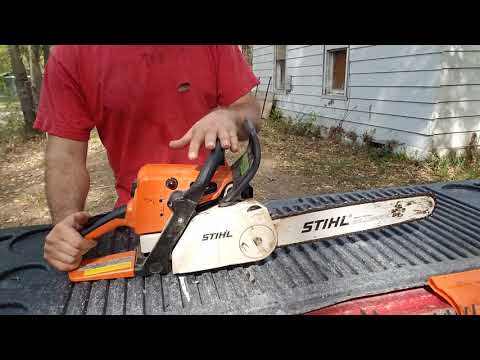 Stihl Chainsaw MS 230c. Review.