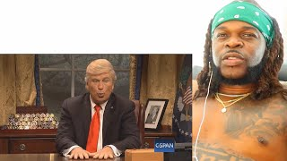 Kanye West Donald Trump Cold Open SNL   Reaction