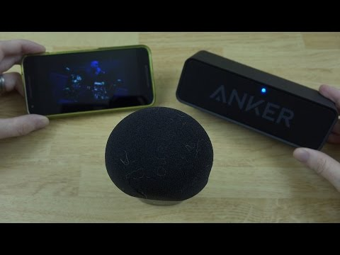 , title : 'Anker SoundCore Bluetooth Speaker Unboxing and First Look!'