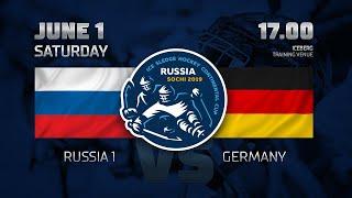 Россия 1 - Германия. Следж-хоккей.
