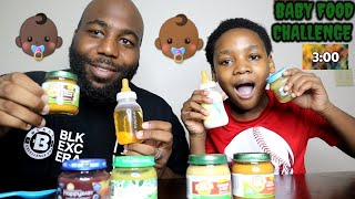 3 JARS IN 3 MIN BABY FOOD CHALLENGE (1 ENTREE 1 VEGETABLE 1 DESSERT) BY EPIC EMPIRE