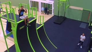 MoveStrong Indoor Functional Fitness Obstacle Course Workout