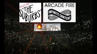 Arcade Fire - The Suburbs -  Live in Toronto @ ACC -  11/3/2017