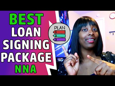 Picking the Right NNA Loan Signing Package for You - YouTube