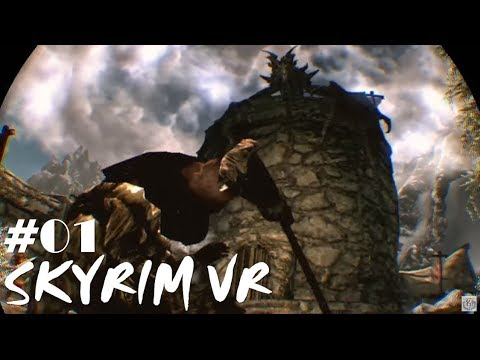 【PSVR】PS4『SKYRIM VR スカイリム VR』VRで広大な世界を旅する!#01