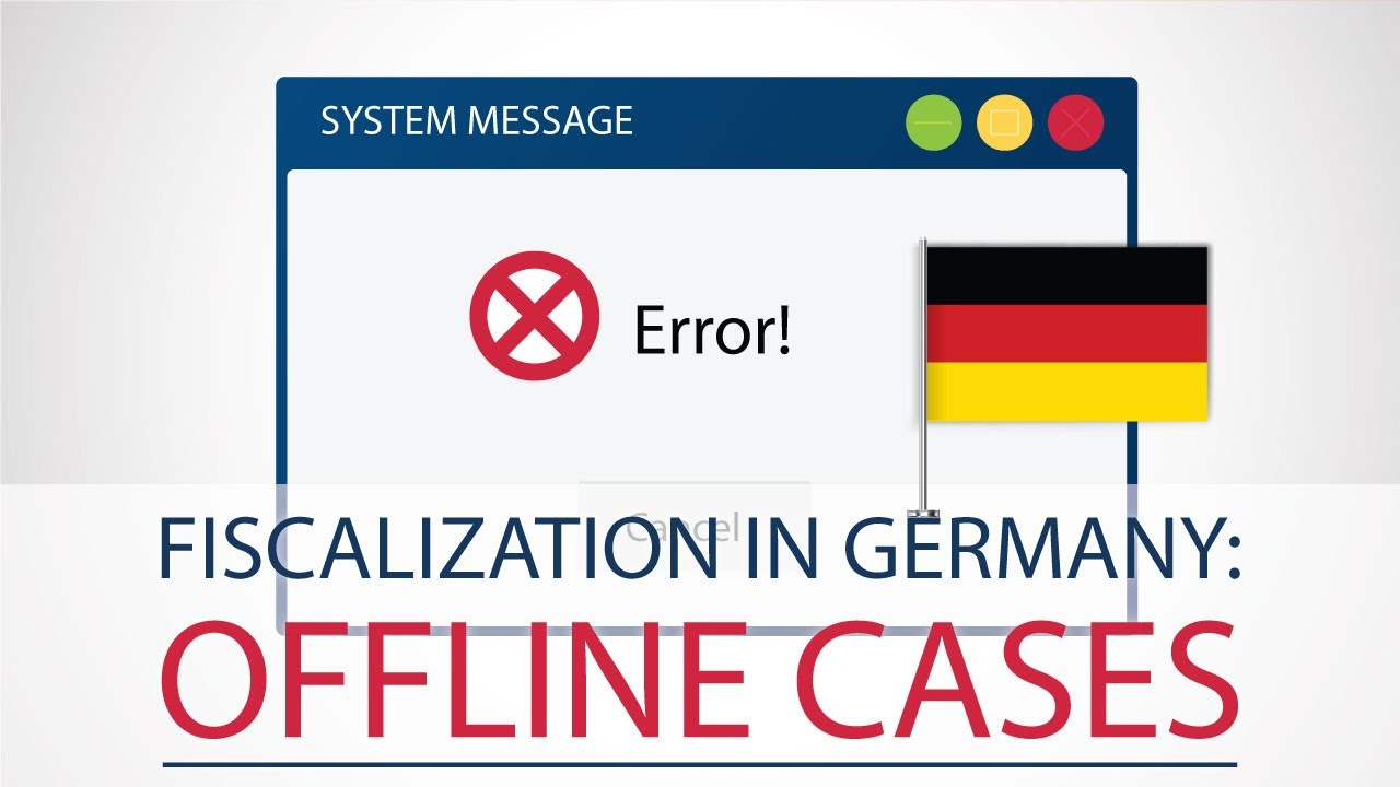 Fiscalization in Germany: TSE failures