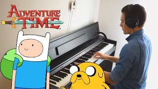 Adventure Time - Come Along With Me (The Island Song) - Piano