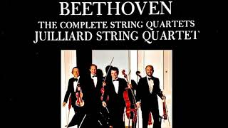 Beethoven - The Complete String Quartets (reference recording : The Juilliard String Quartet 1982)