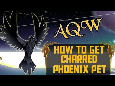 =AQW= How to get Charred Phoenix Pet (Black Friday Countdown 2015)