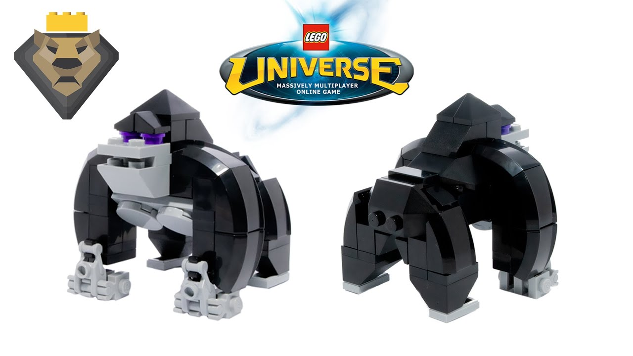 LEGO Universe Gorilla MOC & Tutorial
