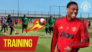 Training | Goals galore in today's 7v7 matches 🔥 | Manchester United