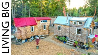 Growing Family Builds Second Tiny Home For Expanding Homestead (Revisited)