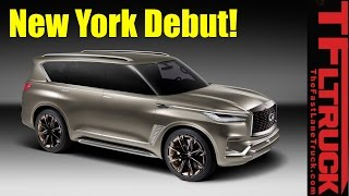 Live from New York! Infiniti QX80 Monograph Concept Debut and Design Presentation