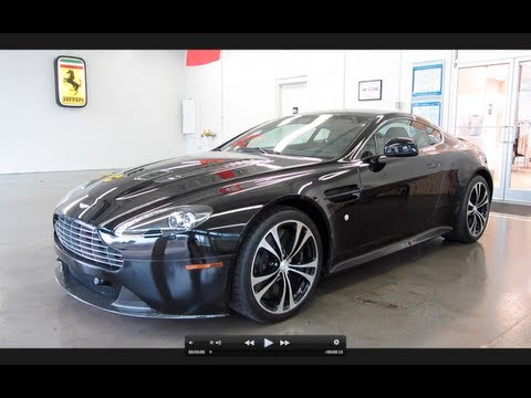 2011 Aston Martin V12 Vantage Carbon Black Edition In-Depth Review