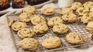soft chocolate chip cookie recipe made with vanilla pudding