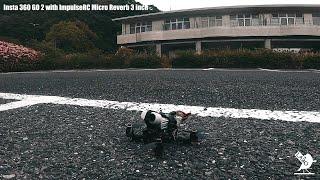 Insta 360 GO 2 with 3 inch Micro Drone / ImpulseRC Micro Reverb 3 / FPV Freestyle
